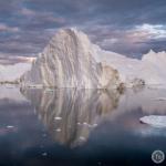Eisberge im Eisfjord